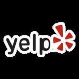 Логотип Yelp
