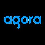 Логотип Agora